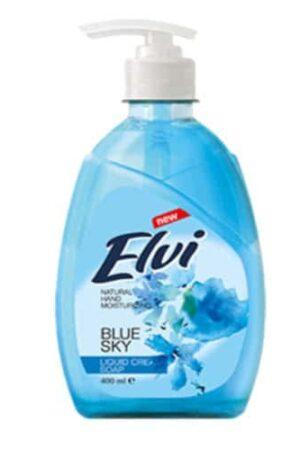 Течен сапун за ръце ЕЛВИ Синьо небе 400 мл